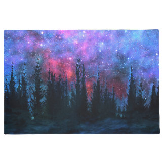 Forest Pines - Starry Sky Doormat