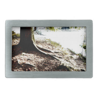 Forest Pond Rectangular Belt Buckles