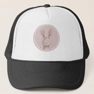 Forest portrait rabbit trucker hat