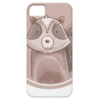 Forest portrait raccoon iPhone 5 case
