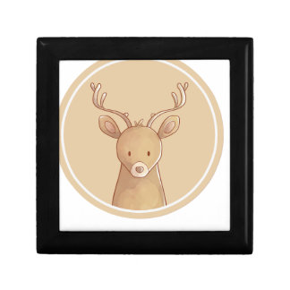 Forest portrait to deer gift box