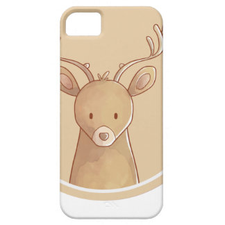 Forest portrait to deer iPhone 5 cases