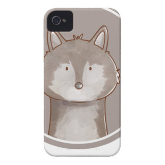 Forest portrait wolf iPhone 4 case