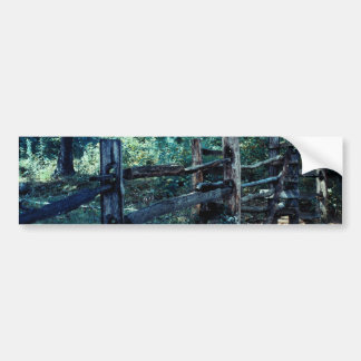 Forest Post Bumper Sticker