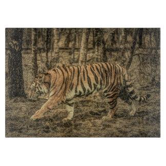 Forest predator wildlife Majestic Wild Tiger Cutting Board