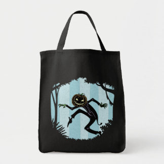 Forest Punkin Man Grocery Tote Bag