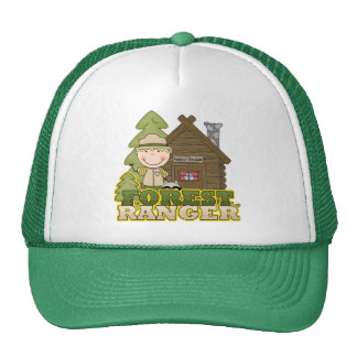 Forest Ranger Boy Tshirts and Gifts Cap