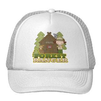 Forest Ranger - Brunette Girl Hat
