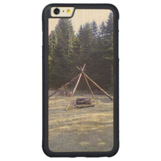Forest resting place carved® maple iPhone 6 plus bumper case