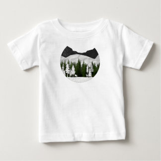 Forest Scene Baby T-Shirt