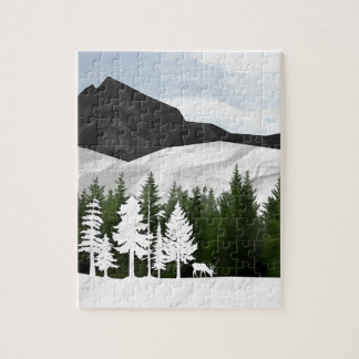 Forest Scene Jigsaw Puzzle