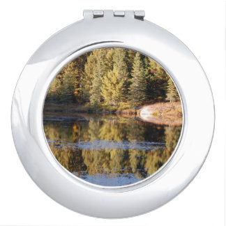 Forest Scenery Compact Mirror
