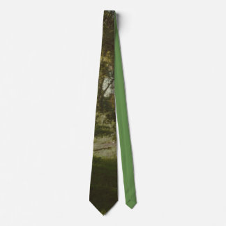 Forest Scenery Print Tie