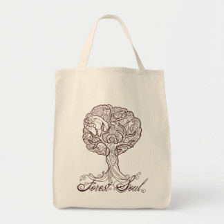 Forest Soul Grocery Bag