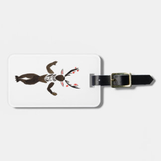 Forest Spirit Luggage Tag