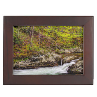 Forest Stream In Great Smoky Mountains Keepsake Box