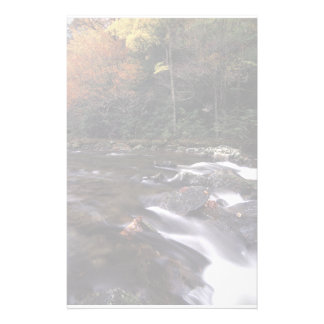 forest stream personalised stationery