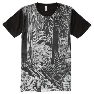 Forest T-shirt Canadian Landscape Shirt Customize