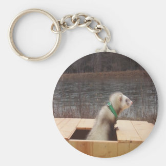 Forest the Ferret Accessories Key Ring
