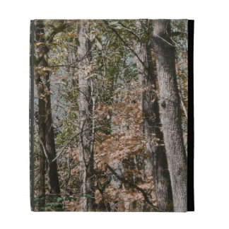 Forest Tree Camo Camouflage Nature Hunting/Fishing iPad Folio Cover
