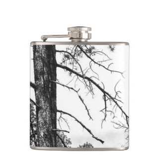 Forest Trees Hip Flask