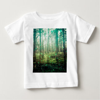 Forest Trees - In the Woods Pattern Baby T-Shirt