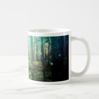 Forest Trees - In the Woods Pattern Coffee Mug