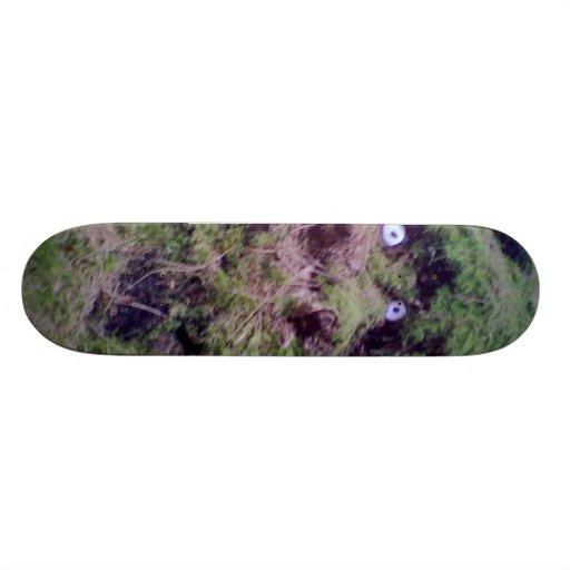 Forest Troll Custom Skateboard