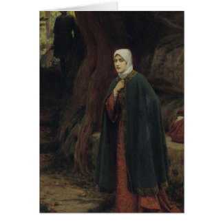 Forest Tryst by Edmund Blair Leighton Card