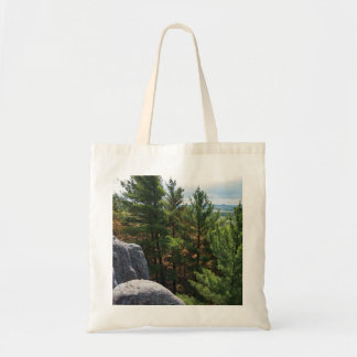 Forest Valley Overlook at Castle Mound Tote Bag