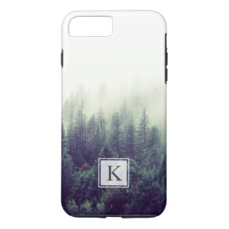 Forest Vibes | Fog Misty Monogram iPhone 7 Plus Case