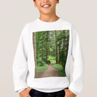 Forest walk, highlands, Scotland Sweatshirt