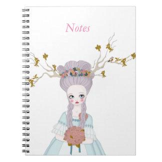 Forest wedding note book