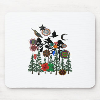 FOREST WHIMSICAL MOUSE PAD