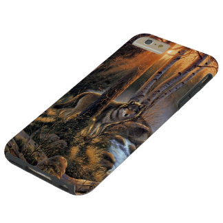 Forest Wolf Tough iPhone 6 Plus Case