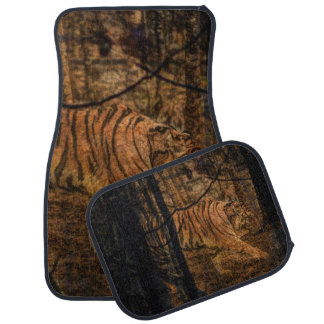 Forest Woodland wildlife Majestic Wild Tiger Car Mat