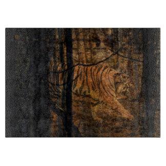 Forest Woodland wildlife Majestic Wild Tiger Cutting Board