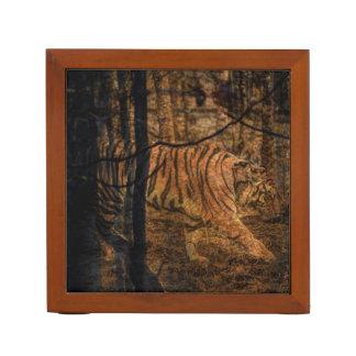 Forest Woodland wildlife Majestic Wild Tiger Desk Organiser