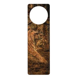 Forest Woodland wildlife Majestic Wild Tiger Door Hanger