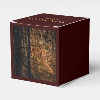 Forest Woodland wildlife Majestic Wild Tiger Favour Box