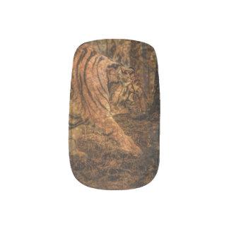 Forest Woodland wildlife Majestic Wild Tiger Minx Nail Art