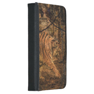 Forest Woodland wildlife Majestic Wild Tiger Samsung Galaxy S5 Wallet Case