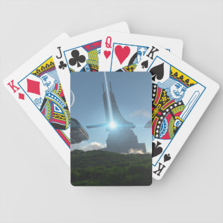 Forest World Bicycle Playing Cards