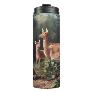 Forested Deer Thermal Tumbler