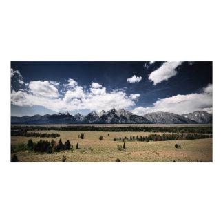 Forested Plains Custom Photo Card