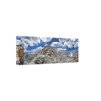 Forester Pass - John Muir Trail - Sierra Nevada Canvas Print