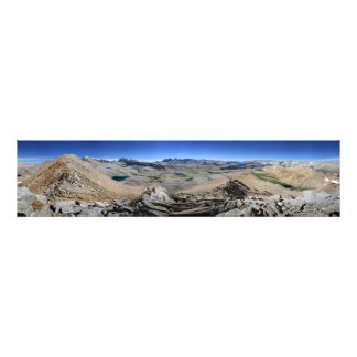 Forester Pass to Mt Whitney - John Muir Trail Photo Print