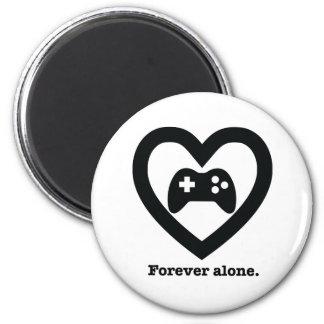 Forever alone. refrigerator magnet