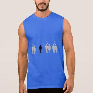 Forever alone sleeveless shirt