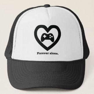Forever alone. trucker hat